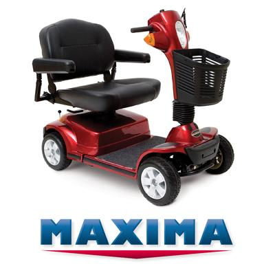 Mobility Scooters Hire on Maxima 4 Wheel Mobility Scooter Isle Of Wight
